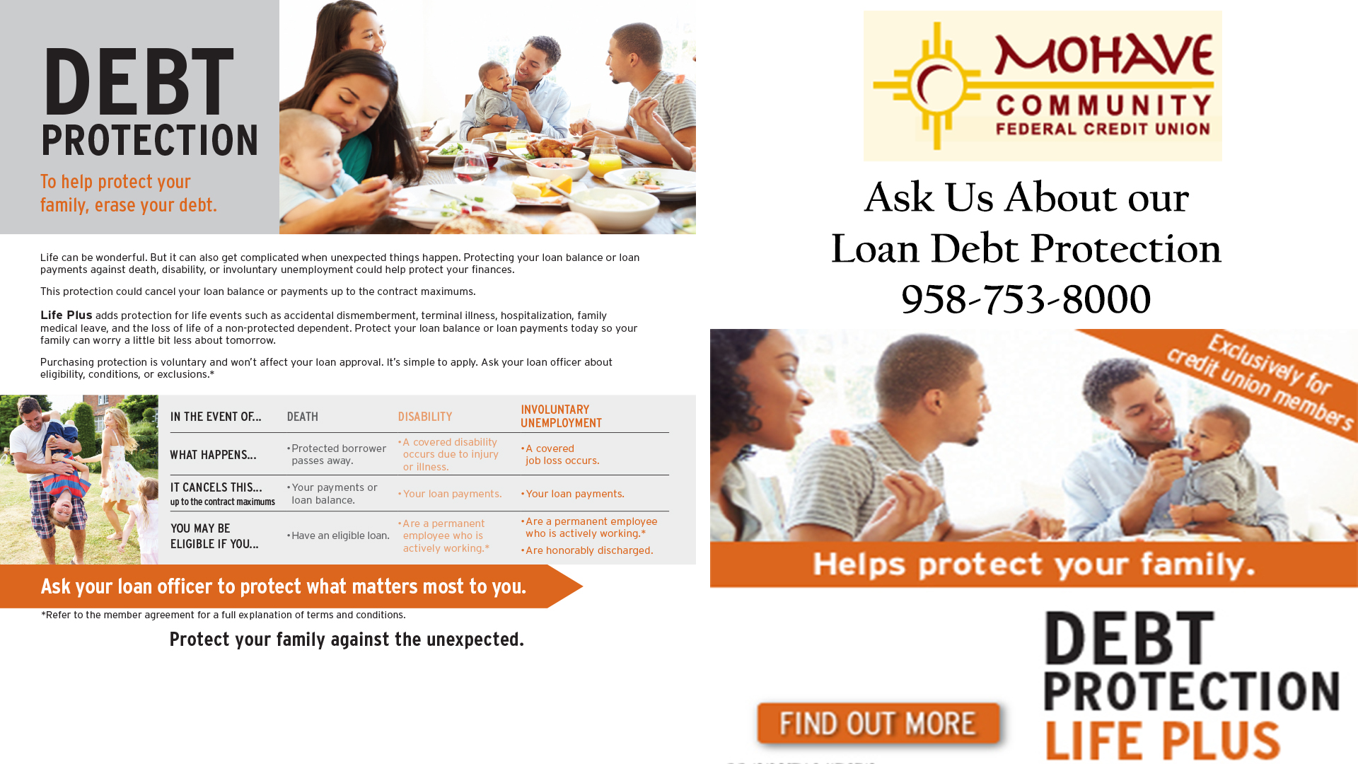 Debt Protection Life Plus