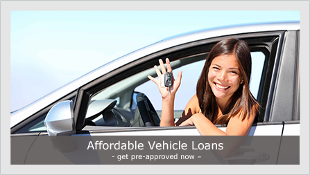 Affordable vehicle loans - get pre-approved now